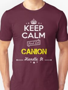 CANION KEEP CLAM AND LET  HANDLE IT - T Shirt, Hoodie, Hoodies, Year, Birthday T-Shirt