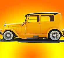 1928 Overland Sedan by DaveKoontz