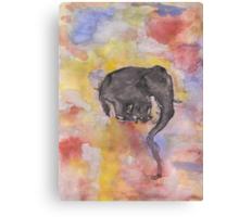 Fritz The Elephant Canvas Print