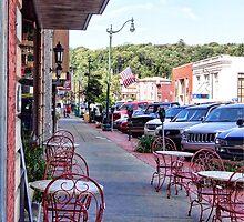 Sidewalk Cafe by vigor
