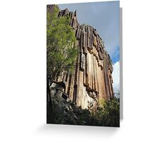 Sawn Rocks Greeting Card