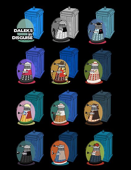 Daleks in Disguise by murphypop