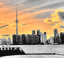 Toronto Skyline by Daniel Judah