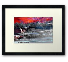 Lost in Abstract Framed Print