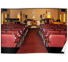 Country Church Chapel Poster