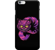 Grinning like a Cheshire Cat (purple version) iPhone Case/Skin