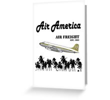 Air America - The CIA's Very Own Airline Greeting Card