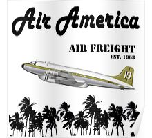 Air America - The CIA's Very Own Airline Poster