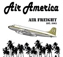 Air America - The CIA's Very Own Airline Photographic Print