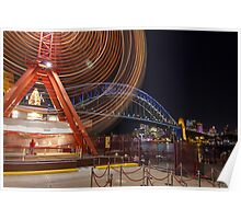 Ferris Wheel - Luna Park Sydney Poster
