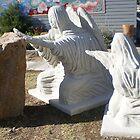 Memorial Garden Angels (front) by stevemonk