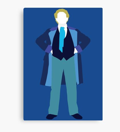 The Sixth Doctor - Doctor Who - Colin Baker (Real Time) Canvas Print