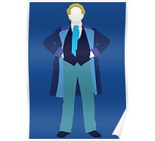 The Sixth Doctor - Doctor Who - Colin Baker (Real Time) Poster