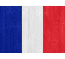 France flag Photographic Print
