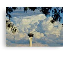 Stratosphere Casino Canvas Print