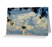Stratosphere Casino Greeting Card