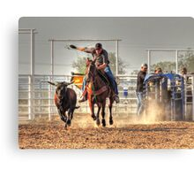 Push for the Prize Canvas Print
