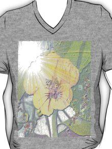 Sunlight on nasturtium T-Shirt