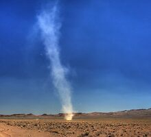 Dust devil (HDR) by zumi
