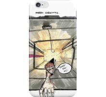 Nakatomi Lift Shaft Christmas Card iPhone Case/Skin
