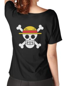 Luffy - OP Pirate Flags - Colored Women's Relaxed Fit T-Shirt