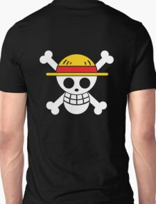 Luffy - OP Pirate Flags - Colored Unisex T-Shirt