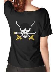 Zoro - OP Pirate Flags - Colored Women's Relaxed Fit T-Shirt
