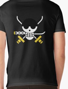 Zoro - OP Pirate Flags - Colored Mens V-Neck T-Shirt