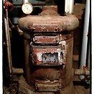 Old Furnace by Barbara Wyeth