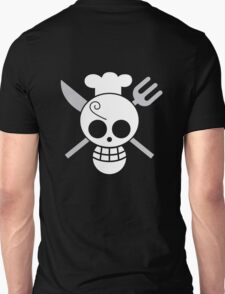 Sanji - OP Pirate Flags - Colored T-Shirt
