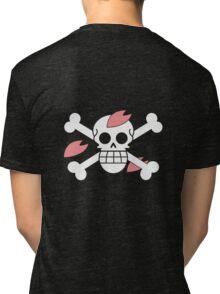 Chopper - OP Pirate Flags - Colored Tri-blend T-Shirt