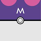 Masterball iPhone Cover by MarkJFormosa