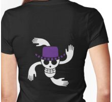 Robin - OP Pirate Flags - Colored Womens Fitted T-Shirt