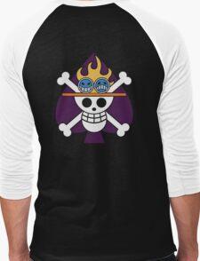 Ace - OP Pirate Flags - Colored Men's Baseball ¾ T-Shirt