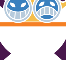 Ace - OP Pirate Flags - Colored Sticker