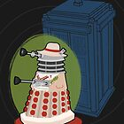 Daleks in Disguise - Fifth Doctor by murphypop