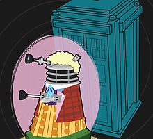 Daleks in Disguise - Sixth Doctor by Meghan Murphy
