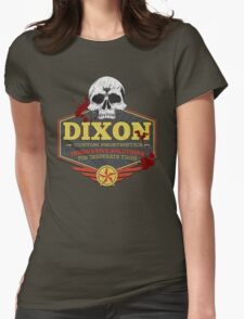 Walking Dead Inspired - Dixon Custom Prosthetics - Merle Dixon - Killing Zombies - Little Merle Womens Fitted T-Shirt