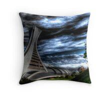 Exhibition Stadium in Montreal Throw Pillow