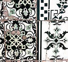 Portugal Tile Number Nineteen by Michael Kienhuis