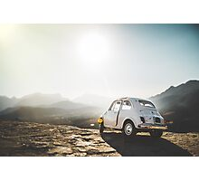 FIAT on the Franschoek Pass Photographic Print