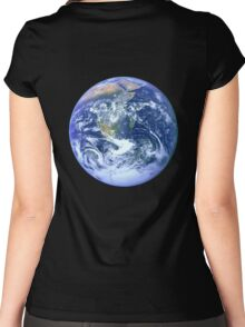 Earth Women's Fitted Scoop T-Shirt