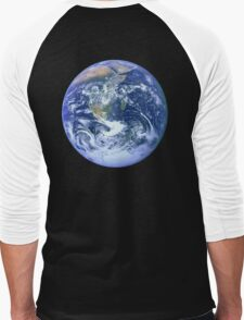 Earth Men's Baseball ¾ T-Shirt