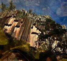 Reflection of Sawn Rocks by NarrabriCards