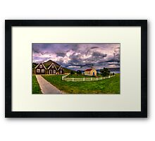 Approaching Storms Framed Print