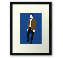 The Eleventh Doctor - Doctor Who - Matt Smith (Series 5) Framed Print