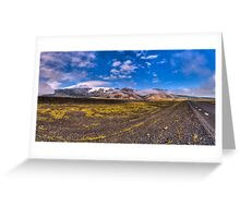 Drive with a View Greeting Card
