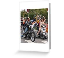 Dykes on Bikes Greeting Card