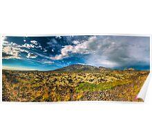 Otherworldly Landscape Poster