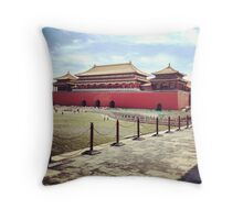 Forbidden city Throw Pillow